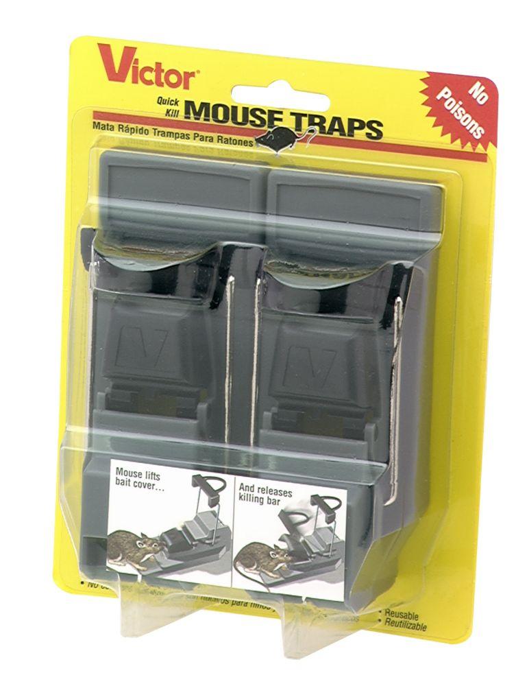Quick Kill Mouse trap 2pk