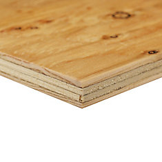 Shop Sheathing Plywood at HomeDepot.ca | The Home Depot Canada