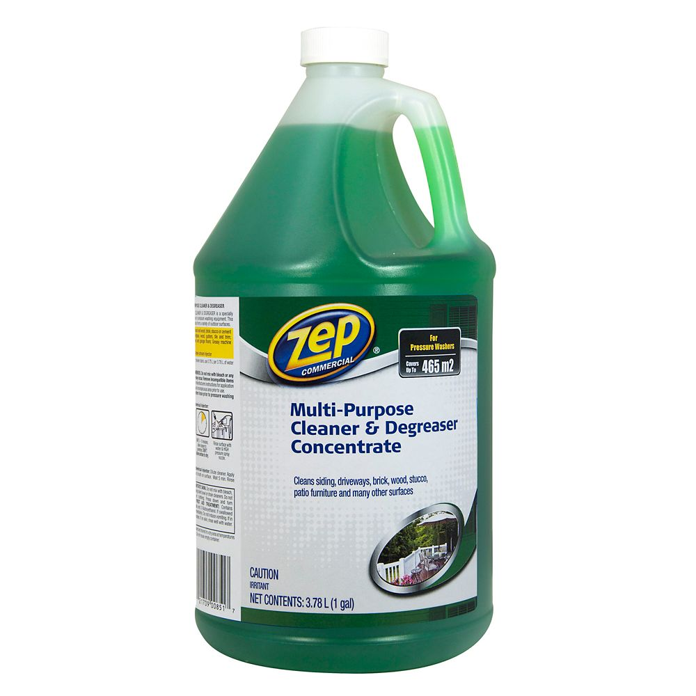 Zep Multi-Purpose Cleaner & Degreaser Pressure Wash 3.78L