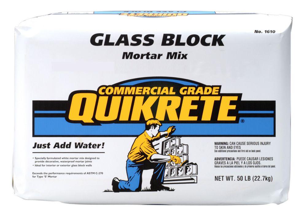 Glassblock Mortar 22.7kg