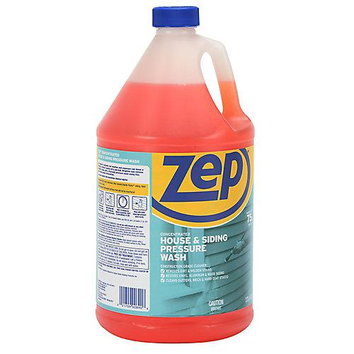 Nettoyant Zep pour maison et parement, pour pulvérisateur à pression