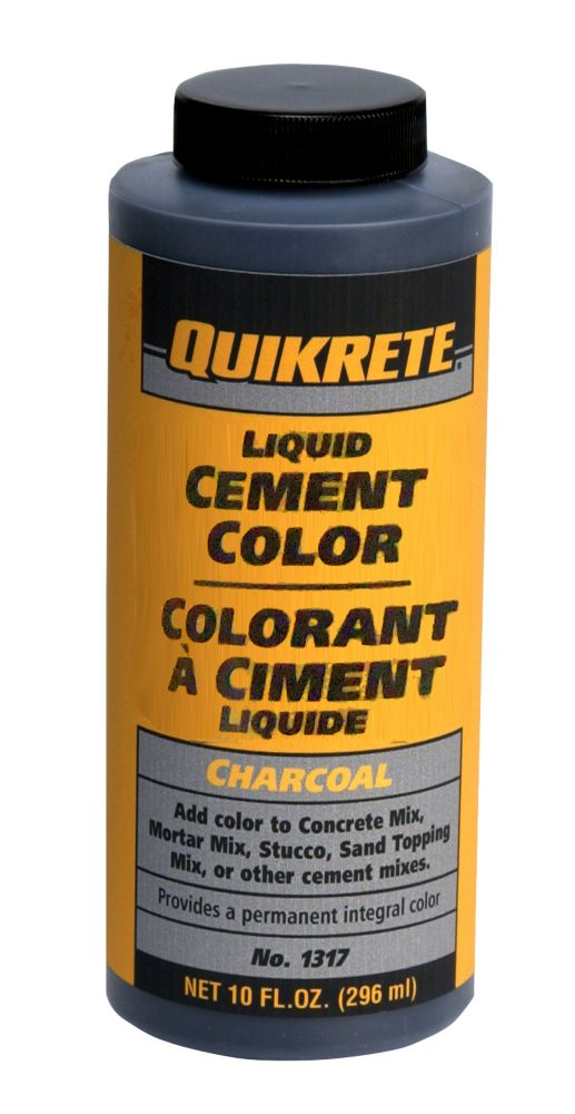 quikrete colorant liquide pour b ton anthracite 296 ml home depot canada. Black Bedroom Furniture Sets. Home Design Ideas