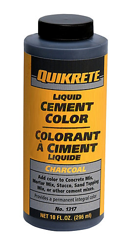 Quikrete Liquid Cement Color - Charcoal 296ml | The Home Depot Canada