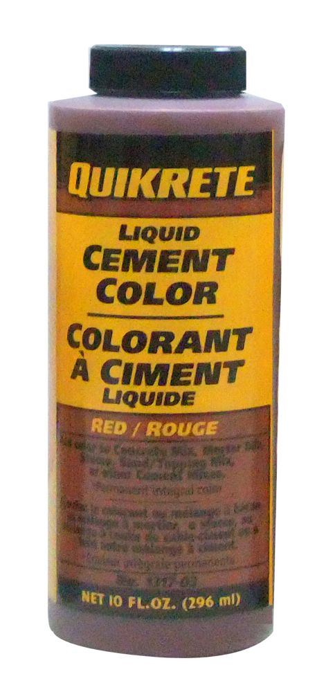 Liquid Cement Color - Red 296ml