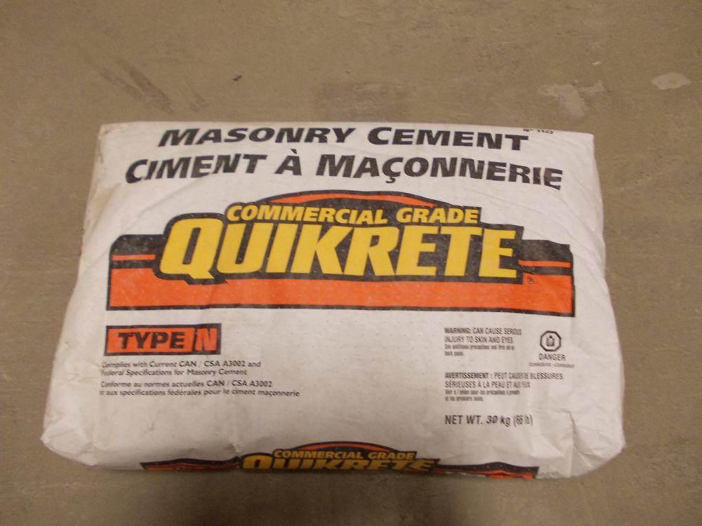 Ciment Á Maçonnerie Type N
