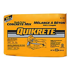 Quikrete 30kg Ready-to-Use Concrete Mix