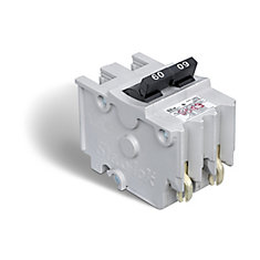 Double Pole 60 Amp Stab-lok (NA) Plug-On Circuit Breaker