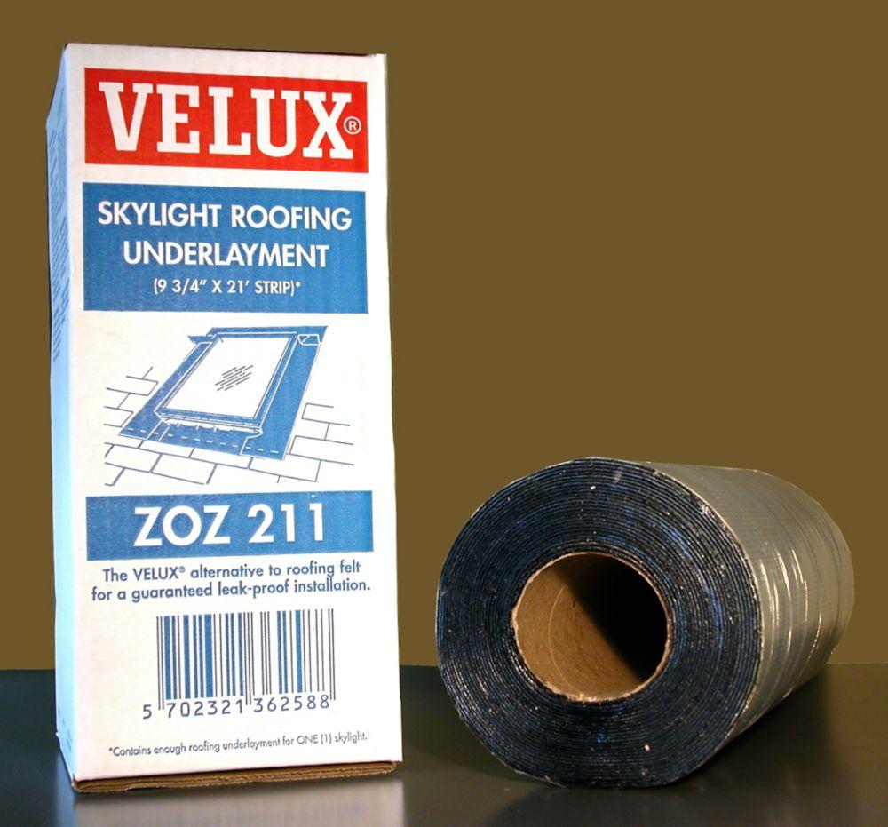 Membrane de toiture autocollante