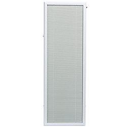 ODL Store vénitien complémentaire en aluminium blanc pour portes vitrées de 20x 64 po - ENERGY STAR®