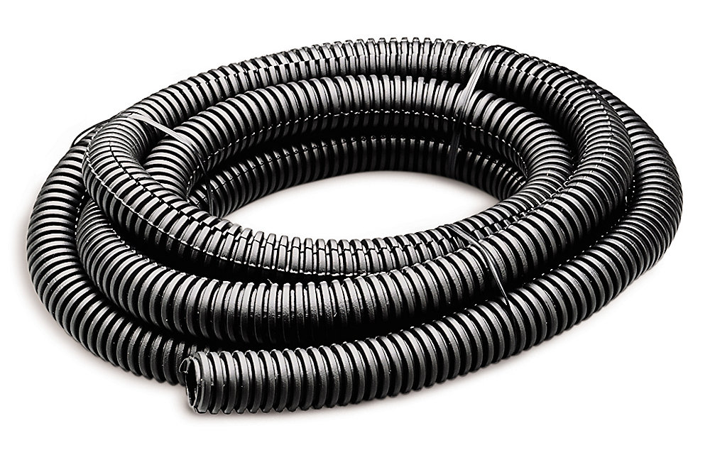 Flex Tube 1/2 In x 7' Black; 1/Bag