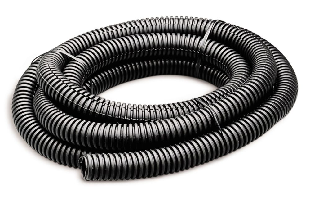 Flex Tube 1/2 In x 7' Black&#x3b; 1/Bag