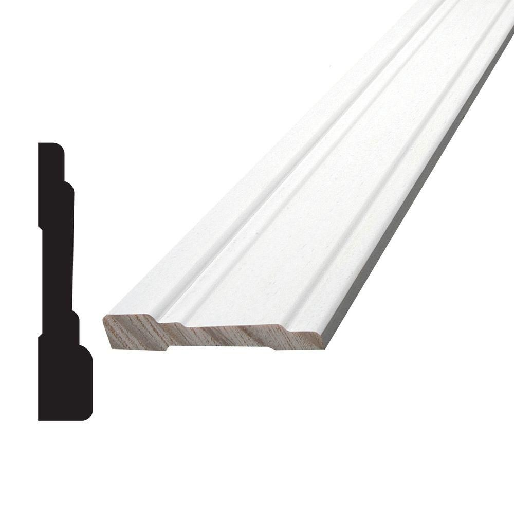 Primed Finger Jointed Pine Casing 7/16 In. x 2-1/4 In. (Price per linear foot)
