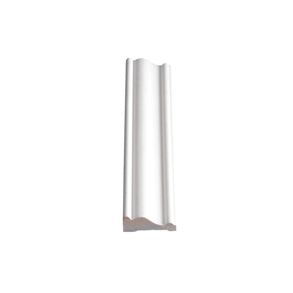 Primed Finger Jointed Pine Casing 1/2 In. x 1-1/2 In. (Price per linear foot)