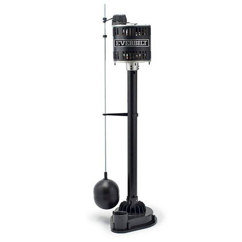 Everbilt 1/3 HP Reinforced Thermoplastic Pedestal Pump
