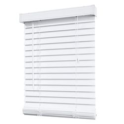 Home Decorators Collection 2-inch Faux Wood Blind in White - 72-inch x 48-inch