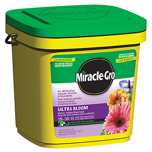 Engrais pour plantes Miracle-Gro Ultra Bloom 15-30-15 -1,71 kg