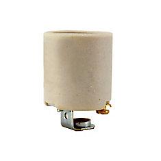 White Porcelain Socket