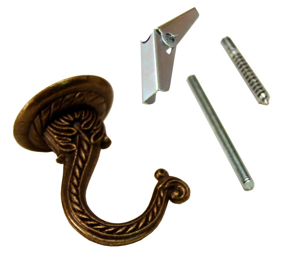 Antique Brass Jumbo Hook