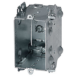 Iberville 15 cubic-inch 3-inch D Device Box Loomex/Bx