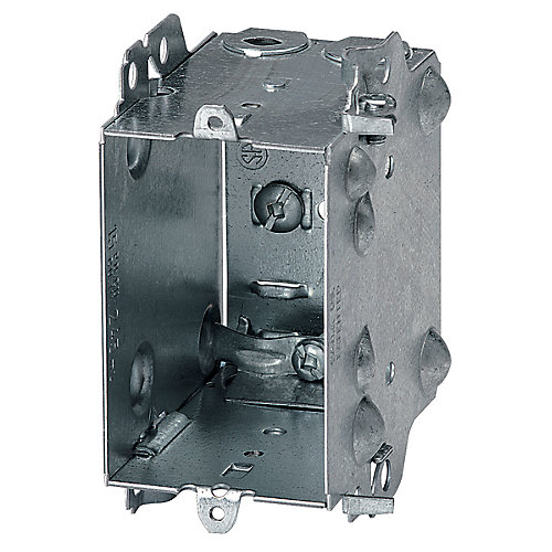 15 cubic-inch 3-inch D Device Box Loomex/Bx