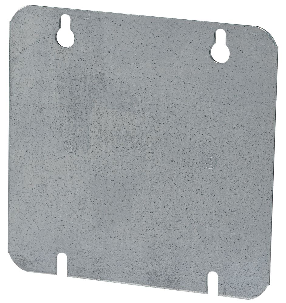 4-11/16 In. Square Blank Flat Cover