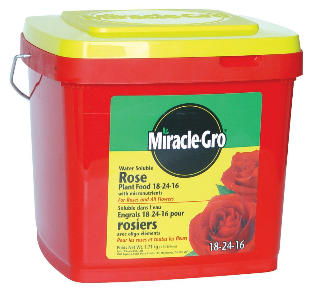 Miracle-Gro Water Soluble Rose Plant Food - 1.71 kg