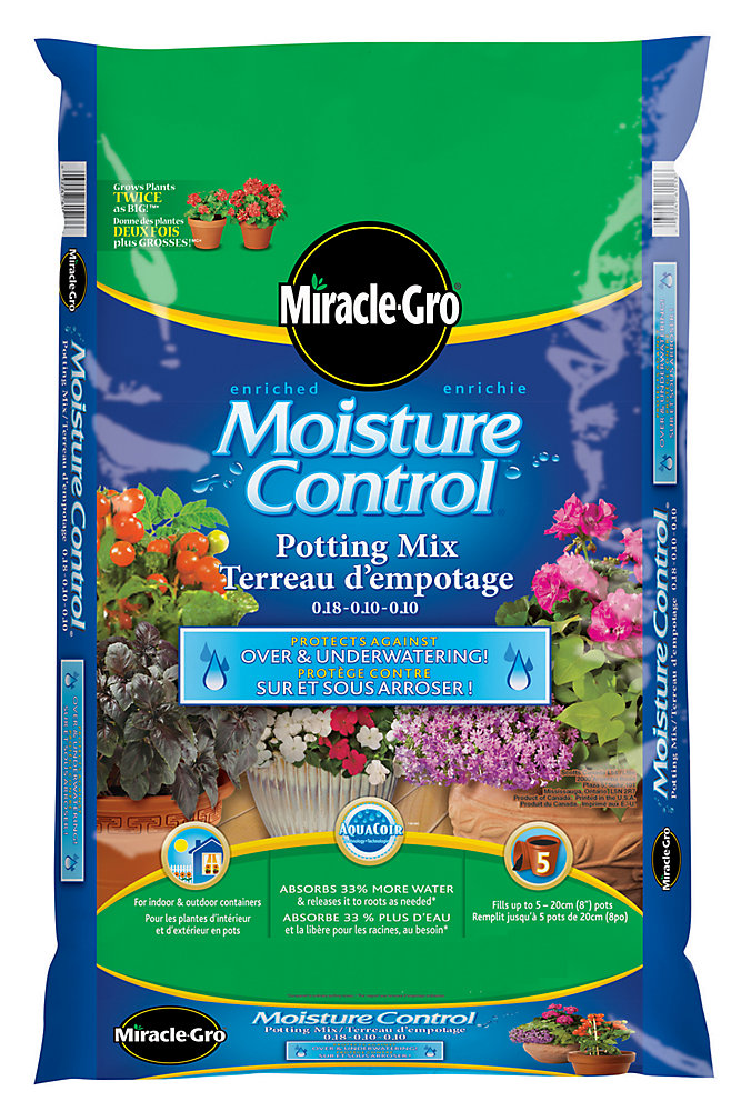 27.5L Premium Moisture Control Potting Mix