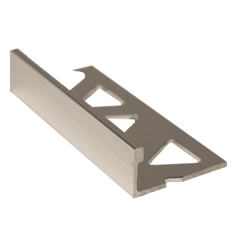 Ceramic Aluminum Tile Edge, Bright Clear - 3/8 Inch (10mm) ET2151BCL08 Canada Discount