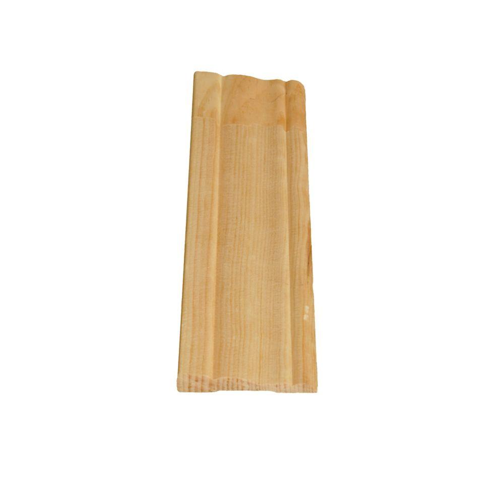 Dormant colonial jointé, pin 3/8 x 2 1/8