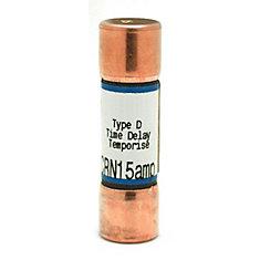 15 Amp CRN Cartridge Fuse