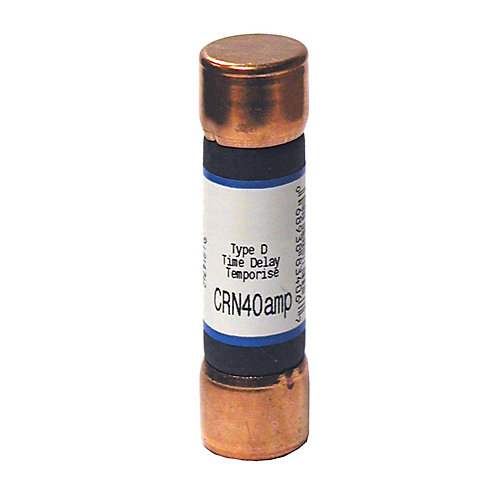 40 Amp CRN Cartridge Fuse