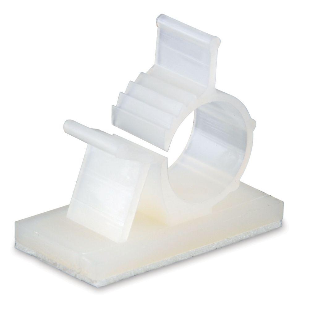 Kwik Clip Plastic 1/2 In dia&#x3b; 4/Cd