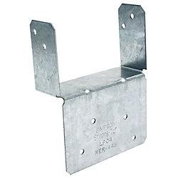 Simpson Strong-Tie Chapiteau de poteau réglable 4x (ZMAX)