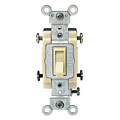 Leviton Way Switch Ivory The Home Depot Canada - 4 way dimmer switch leviton