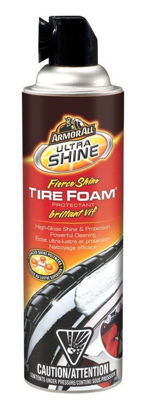 Armor All Fierce Shine Tire Foam 510g