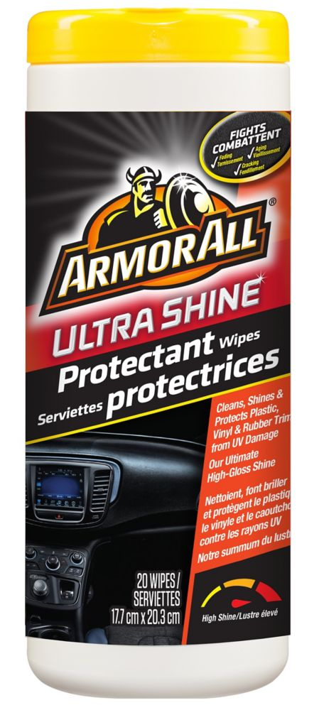 Armor All Ultra Shine Protectant Wipes 20ct