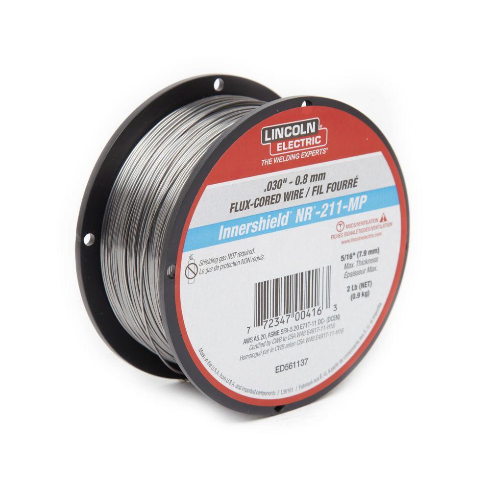.030 Inch  NR 211MP Flux  Core Wire- 2lb Spool