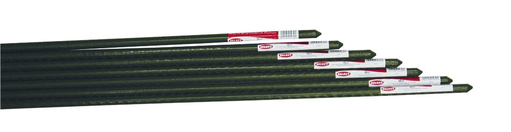 Select Plasticized Metal Stakes - 4'