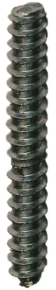 1/4X2 Dowel Screw Bare
