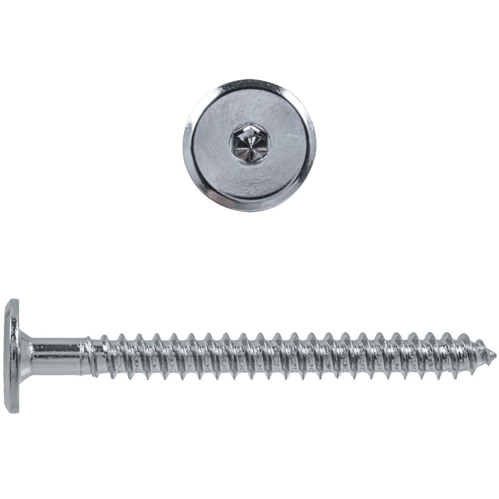 M7X2-3/4 Connector Screw Nickel Pltd