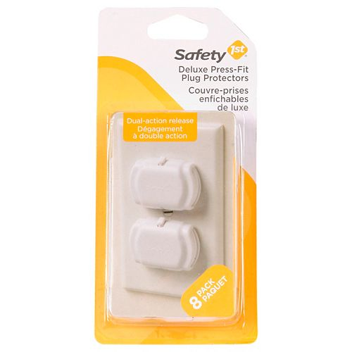 Safety 1st Fit Outlet Cover - (8-Pack)