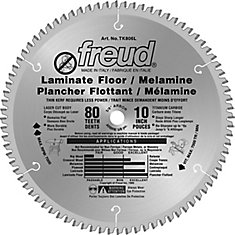 10 In. Laminate Flooring Blade - 80 Teeth