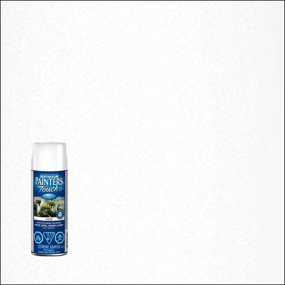 Peinture à Usages Divers Lustrés - Blanc - Aérosol