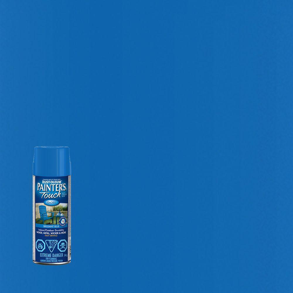 Painter's Touch Multi-Purpose Paint - Brilliant Blue (340g Aerosol)