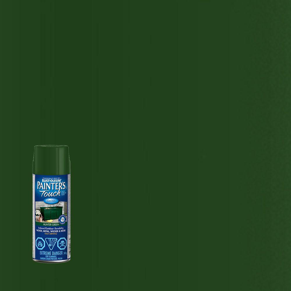 Rust-Oleum Painter's Touch Multi-Purpose Paint - Hunter Green (340g Aerosol)