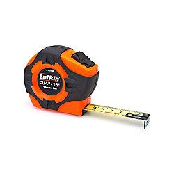 Lufkin Tape 3/4 inch X 5M/16 ft. Orange/Black