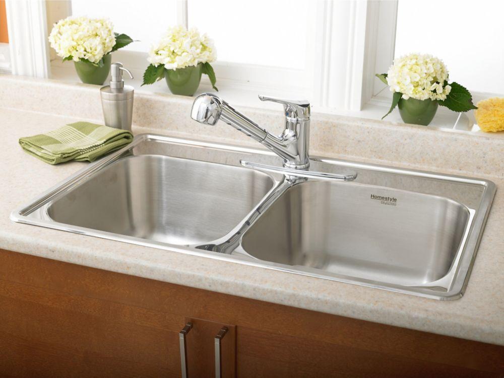 Homestyle 2.0 Topmount Stainless Steel Sink