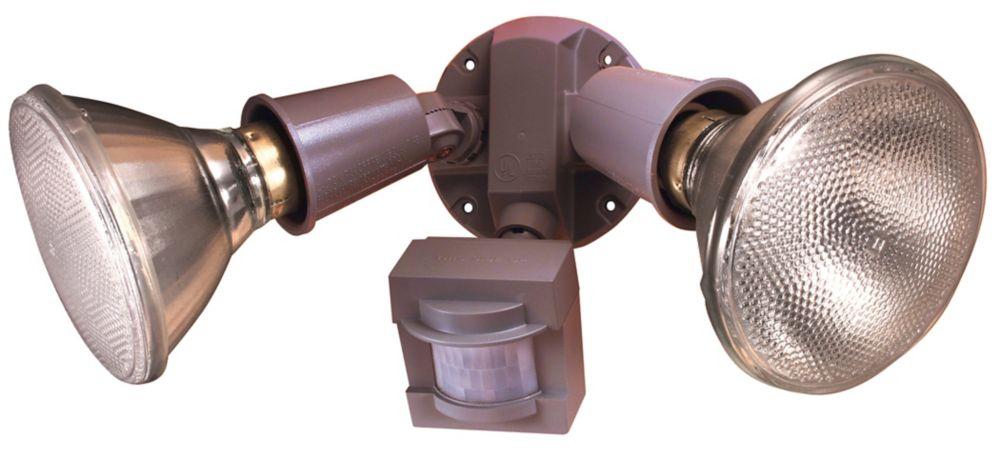 110 Degree PAR Motion Sensing Security Light - Grey