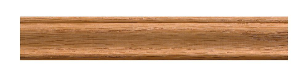 Oak Colonial Trim Moulding 3/8 x 1-1/4 - Sold Per 8 Foot Piece
