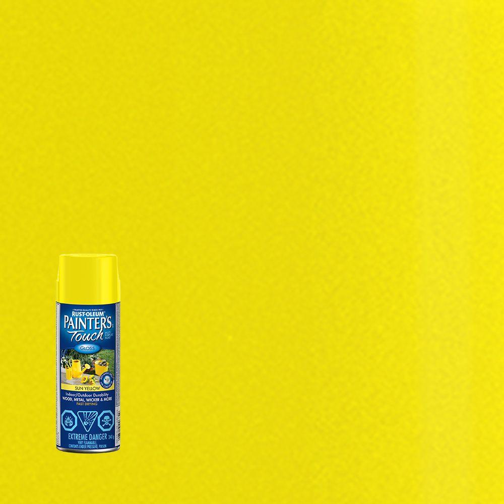 Painter's Touch Multi-Purpose Paint - Sun Yellow (340g Aerosol)